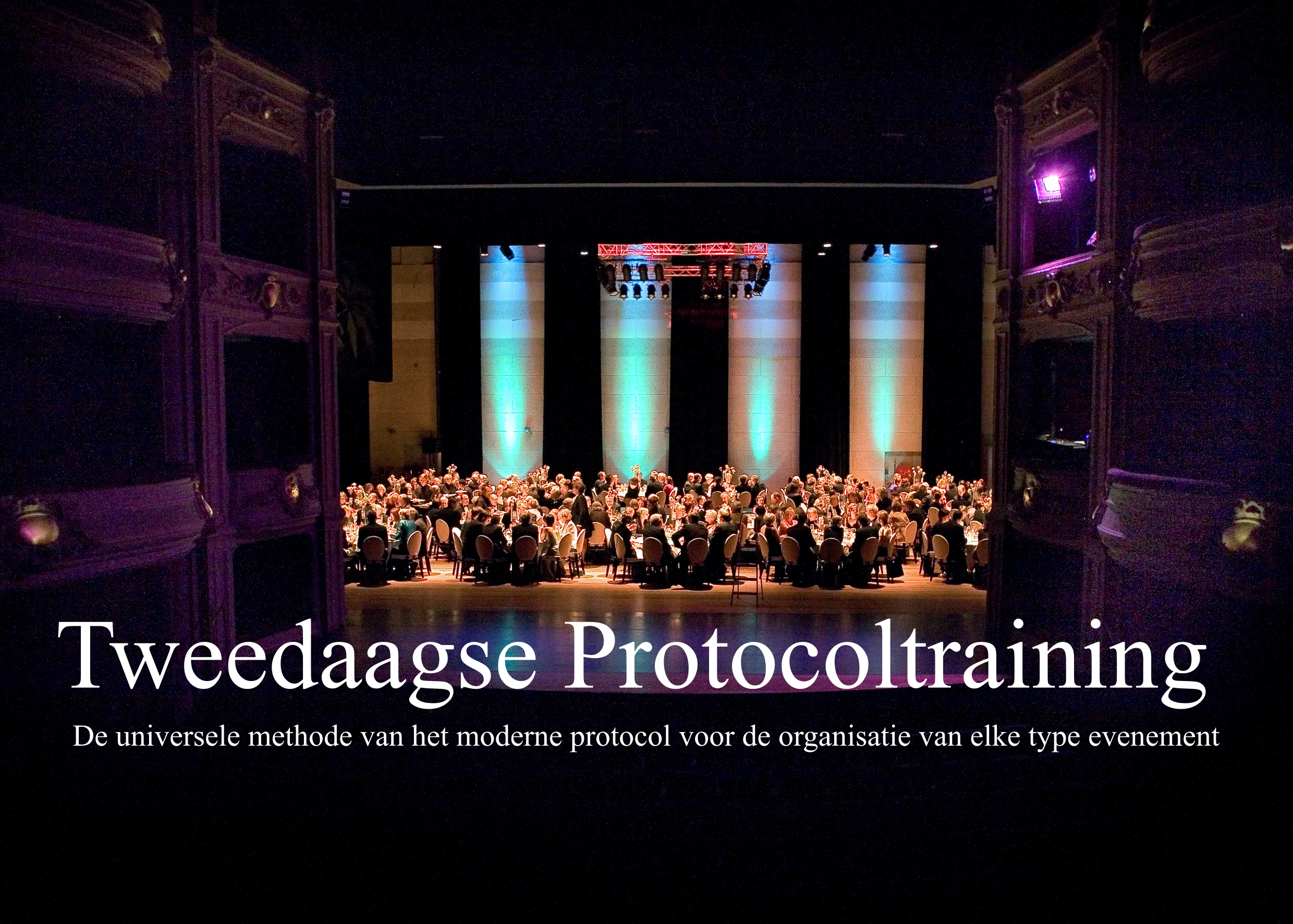 Protocolbureau: management of high-level events & protocol training programmes
